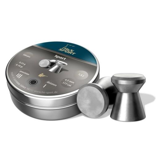 Plombs H&N Sport diamètre 4.50