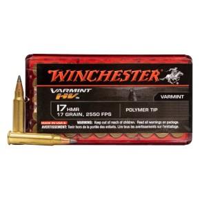 Munitions 17 HMR Winchester