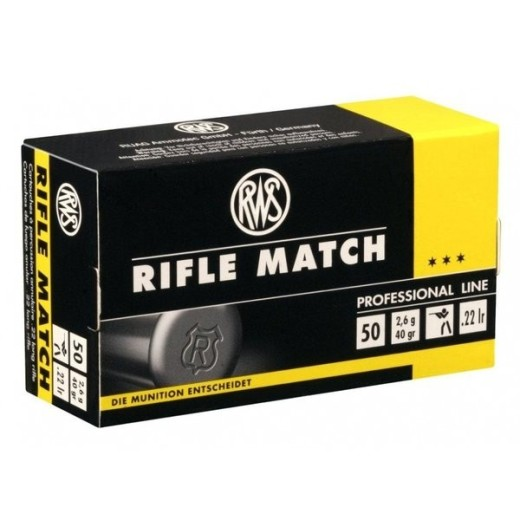 Munitions 22Lr RWS Rifle Match