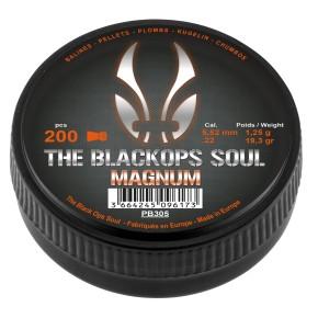 Plombs The Black Ops Soul à tête Magnum cal. 5,5 mm