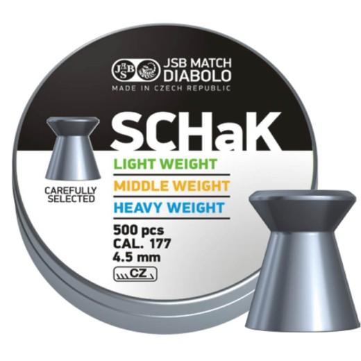 Plombs JSB Schak diamètre 4.50