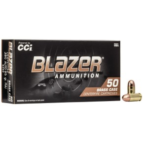 munitions Blazer cal. 9x19 mm 124 gr FMJ