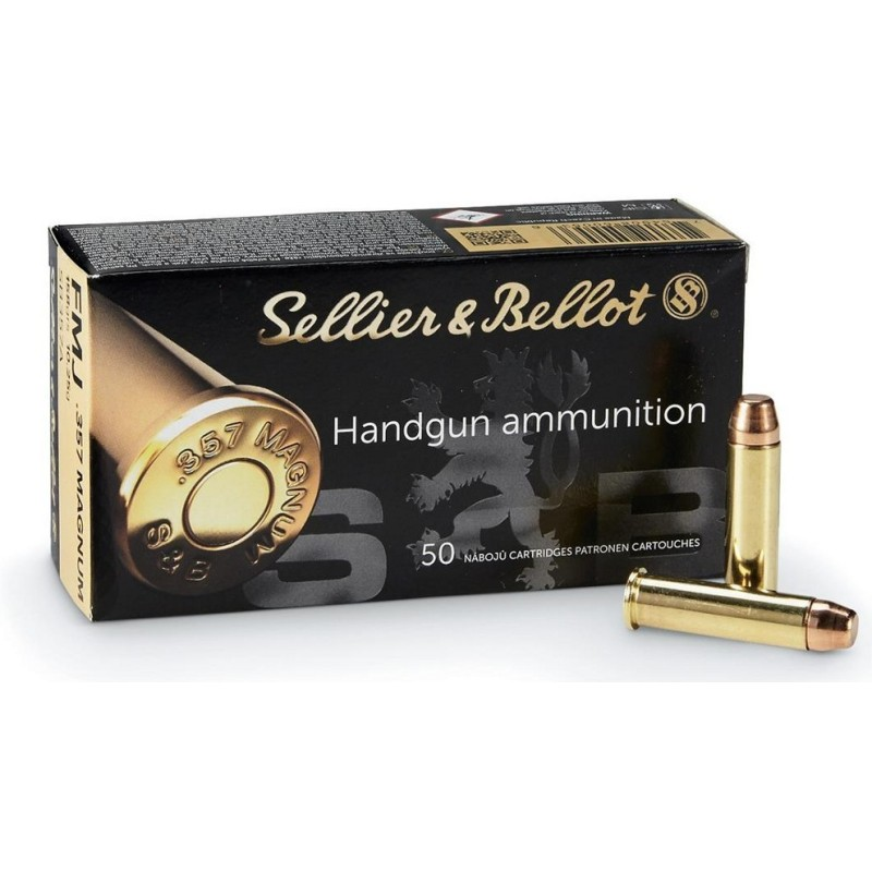 Munitions 357 Magnum Sellier Bellot FMJ