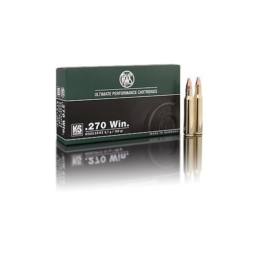 Munitions 270 Winchester RWS KS
