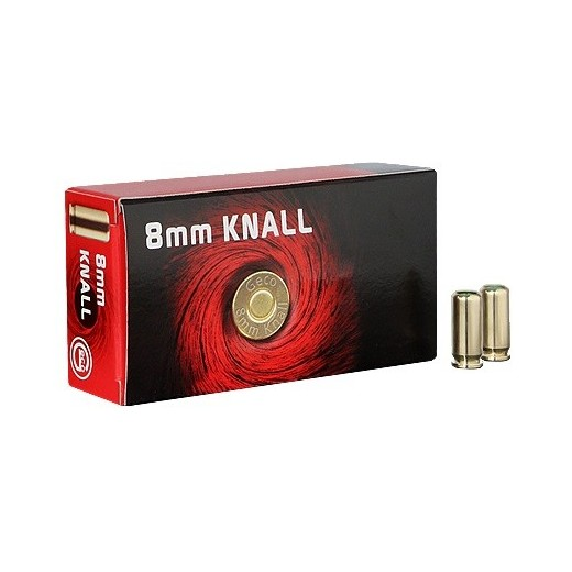 Munitions à blanc GECO calibre 8mm