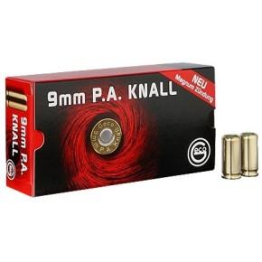 Munitions à blanc GECO calibre 9mm