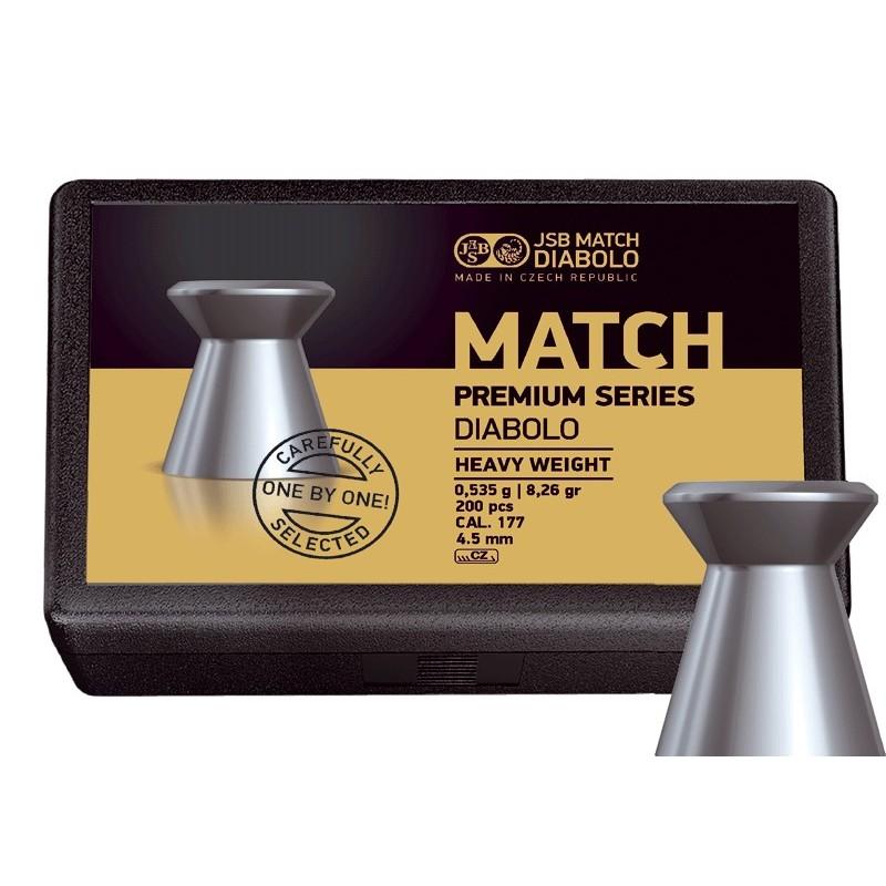 Plombs JSB Match Premium Series Heaving Weight diamètre 4.50