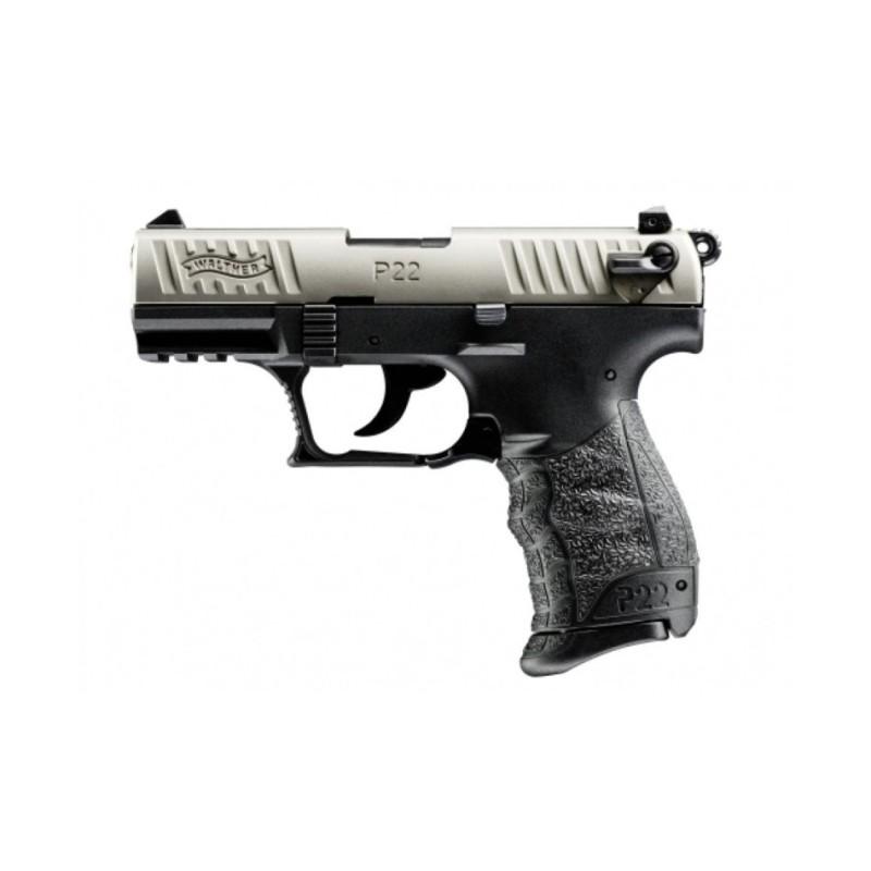 Pistolet 22Lr Walther P22Q nickel
