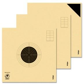 Cibles carabine 10 mètres ISSF KRUEGER (Série de 20 cibles + 4 essais)