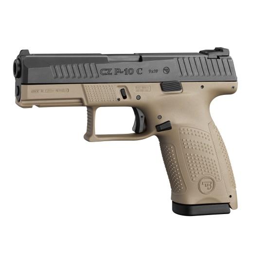 Pistolet 9mm C.Z P-10C FDE