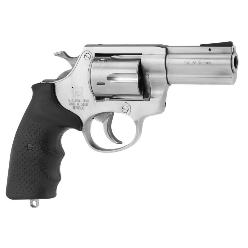 Revolver 38 Special Alpha Proj 3 pouces inox