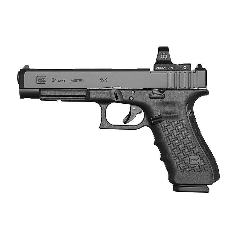 Pistolet 9mm Glock 34 Génération 4 MOS