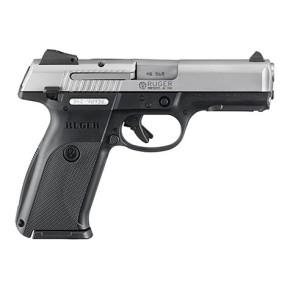Pistolet 40S&W Ruger SR40 Noir et Inox Bi Color