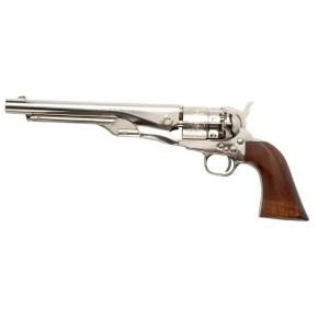 Revolver Pietta Modèle 1860 Army Acier Nickele calibre 44