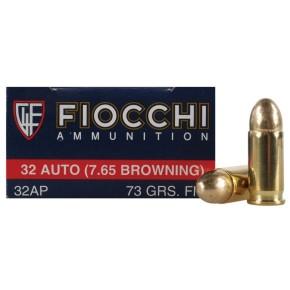 Munitions 7.65mm Fiocchi RN FMJ