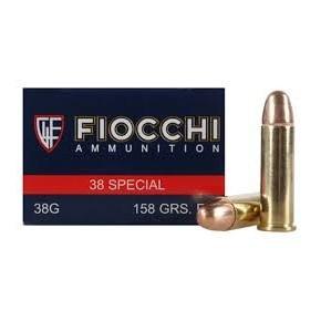 Munitions 38 Special Fiocchi FMJ 158 grains