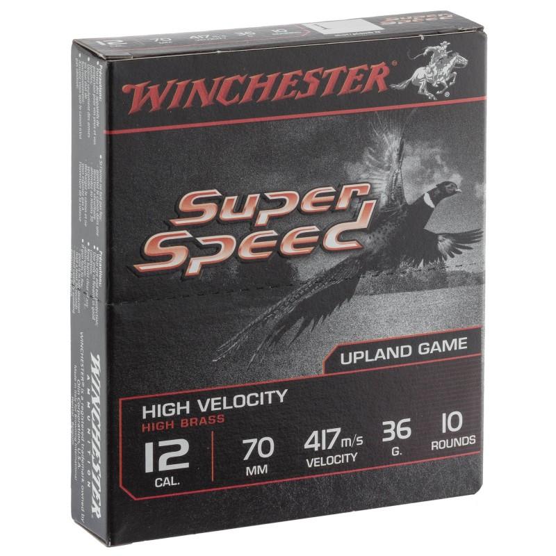 cartouches Winchester Super Speed 36 grains calibre 12/70
