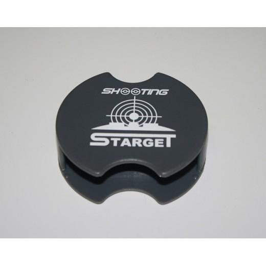Pince clips grise Starget Shooting pour boîte de plombs
