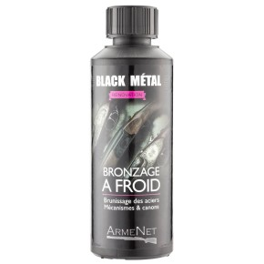 Bronzage à froid Black Metal