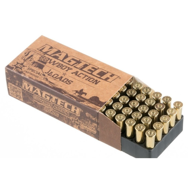 Munitions 357 Magnum MAGTECH 158 grains L-FLAT