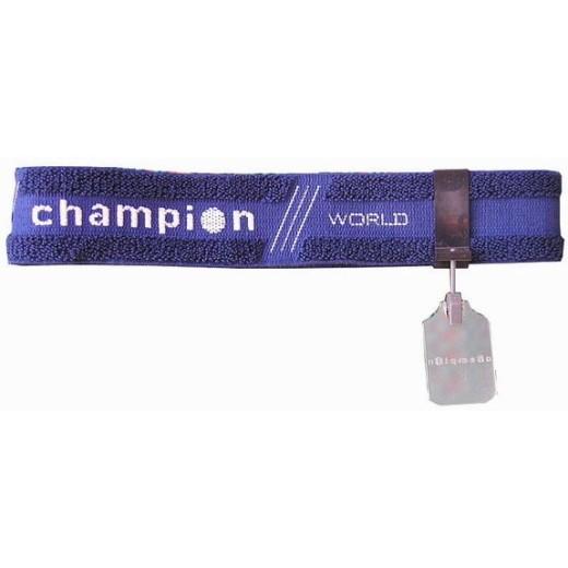 Bandeau de tir Champion bleu