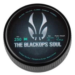 Plombs The Black Ops Soul à tête plate cal. 5,5 mm